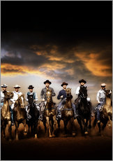 Galleritryk  THE MAGNIFICENT SEVEN