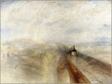 Galleritryk  Rain, Steam and Speed - Joseph Mallord William Turner