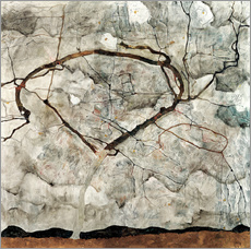 Galleritryk  Autumn Tree in Stirred Air (Winter Tree) - Egon Schiele