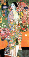 Akrylbillede  The dancer - Gustav Klimt