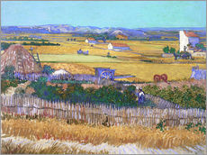 Galleritryk  The Harvest - Vincent van Gogh