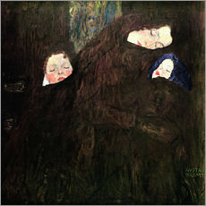 Galleritryk  Mother with children - Gustav Klimt
