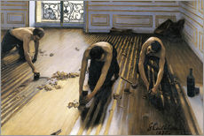 Galleritryk  The Floor Planers - Gustave Caillebotte