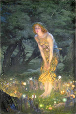 Galleritryk  Midsummer Eve - Edward Robert Hughes