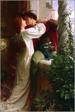 Galleritryk  Romeo and Juliet, 1884 - Sir Frank Dicksee