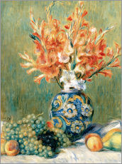Galleritryk  Still Life with Fruit and Flowers - Pierre-Auguste Renoir