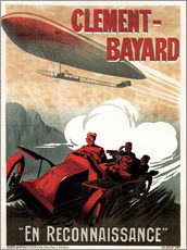 Galleritryk  Clement Bayard Automobile - Advertising Collection