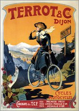 Galleritryk  Terrot & Cie Dijon bicycles and motorcycles - Advertising Collection