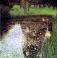 Galleritryk  The Swamp - Gustav Klimt