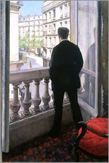 Galleritryk  Man at the Window - Gustave Caillebotte