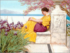 Galleritryk  Under The Blossom That Hangs On The Bough - John William Godward