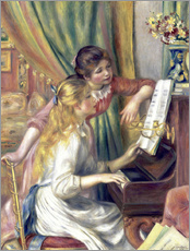 Galleritryk  Girls at the Piano - Pierre-Auguste Renoir