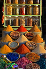 Galleritryk  Spices from Morocco - HADYPHOTO