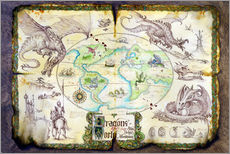 Galleritryk  Dragons of the world - Dragon Chronicles