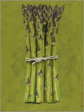Galleritryk  Asparagus bunch - Brian James