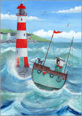 Galleritryk  Lighthouse - Peter Adderley