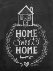 Galleritryk  Home Sweet Home - Lily & Val