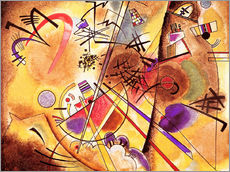 Selvklæbende plakat  Small dream in red - Wassily Kandinsky