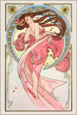 Galleritryk  The Arts - Dance - Alfons Mucha