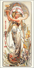 Premium-plakat  Champagne Theophile Roederer & Co - Louis Theophile Hingre