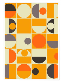 Premium-plakat  Panton orange - Mandy Reinmuth