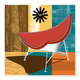 Premium-plakat coconut chair