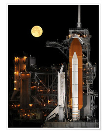 Premium-plakat Space shuttle Discovery
