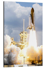 Print på aluminium  Space shuttle Atlantis launches