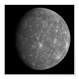 Premium-plakat Planet Mercury