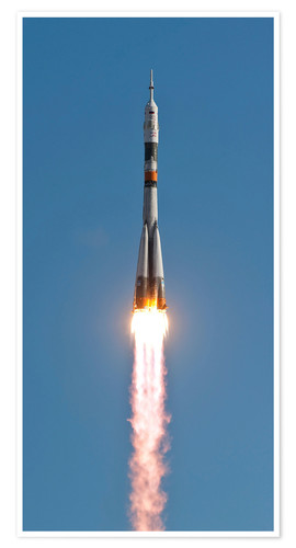 Premium-plakat The Soyuz TMA-18 rocket