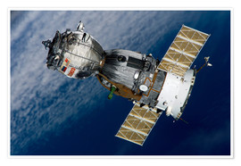 Premium-plakat The Soyuz TMA-7 spacecraft