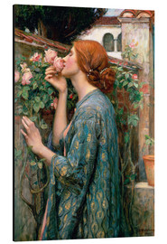 Print på aluminium  The Soul of the Rose - John William Waterhouse