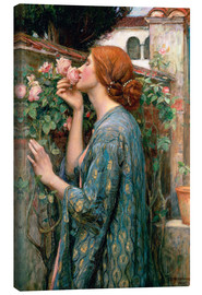 Lærredsbillede  The Soul of the Rose - John William Waterhouse