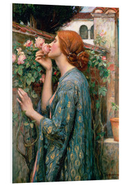Print på skumplade  The Soul of the Rose - John William Waterhouse
