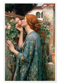 Premium-plakat  The Soul of the Rose - John William Waterhouse