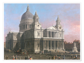 Premium-plakat  St. Paul's Cathedral - Antonio Canaletto