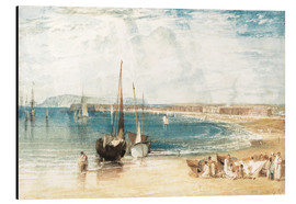 Print på aluminium  Weymouth - Joseph Mallord William Turner