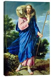 Lærredsbillede  The Good Shepherd - Philippe de Champaigne