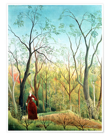 Premium-plakat  The walk in the forest - Henri Rousseau