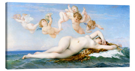 Lærredsbillede  The Birth of Venus - Alexandre Cabanel