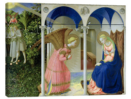 Lærredsbillede  The Annunciation - Fra Angelico