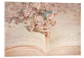 Akrylbillede  The old book - INA FineArt