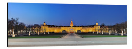 Print på aluminium  Panoramic view of palace Karlsruhe Germany - FineArt Panorama