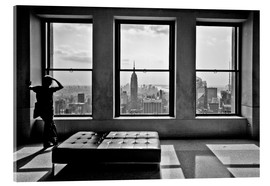 Akrylbillede  New York, Top of the Rock - Thomas Splietker