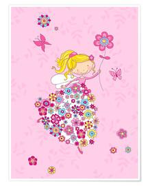 Premium-plakat Flower Princess