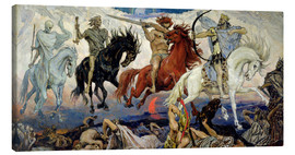 Lærredsbillede  The Four Horsemen of the Apocalypse - Victor Mikhailovich Vasnetsov