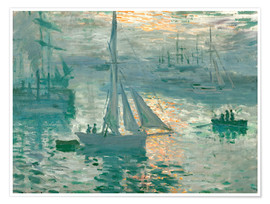 Premium-plakat  Sunrise - Claude Monet