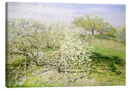 Lærredsbillede  Spring (Fruit Trees in Bloom) - Claude Monet