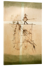 Akrylbillede  Tightrope Walker - Paul Klee