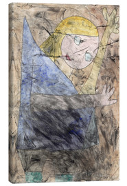 Lærredsbillede  Angel still groping - Paul Klee